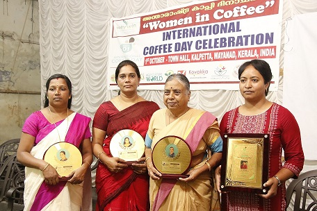 international coffee day celebration at Wayanad