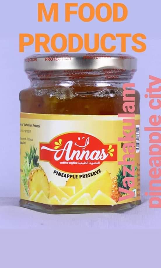 Annas pineapple preserve